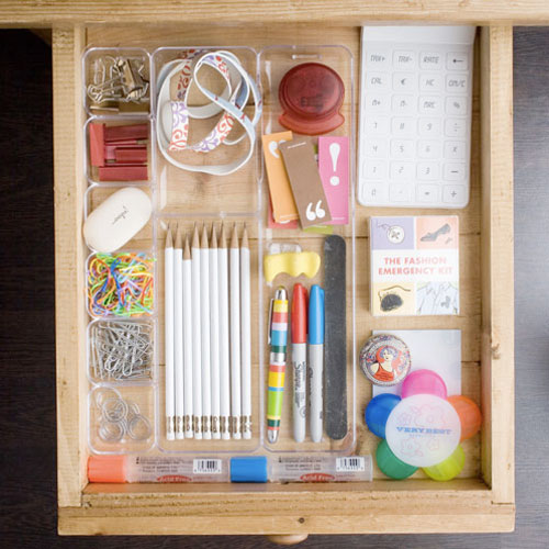 Organization Ideas For Junk Drawers: The Remodeled Life: Pretty Organized Drawers: Inspiration