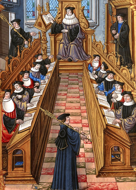middle ages and education Read about education in the middle ages in 1330 only about 5% of the population could read or write it was extremely rare for peasants to be literate some lords of the manor had laws banning serfs from being educated.
