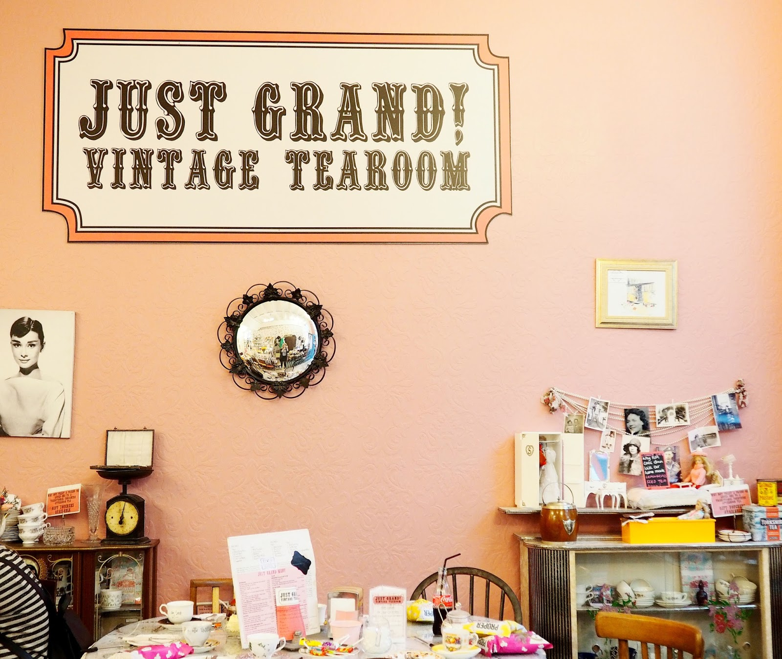 Just Grand Vintage Tearooms Leeds