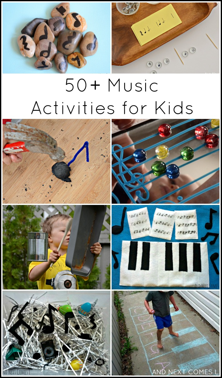 50 Incredibly Creative Music Activities For Kids