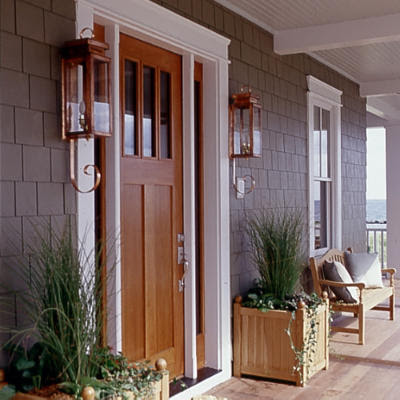 Exterior Door Styles on The Contrast In Styles Of The Doors Above And Below Are So Different
