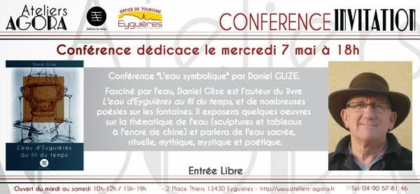 http://ateliersagora.blogspot.fr/2014/04/mercredi-7-mai-conference-dedicace-leau.html