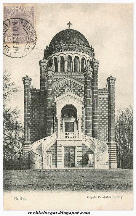 Capela Printului Stirbey din Buftea