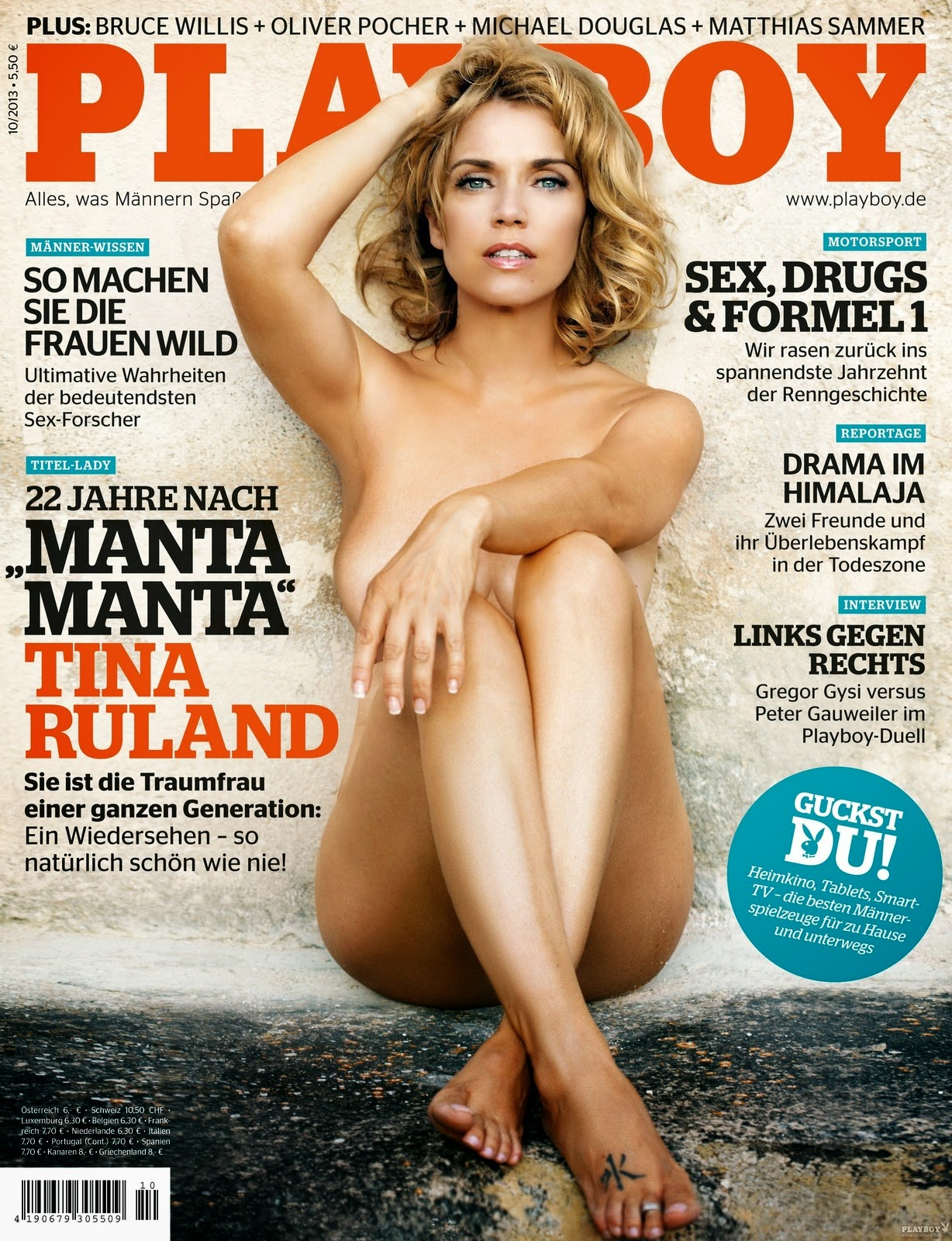Tina Ruland German Playboy October 2013
