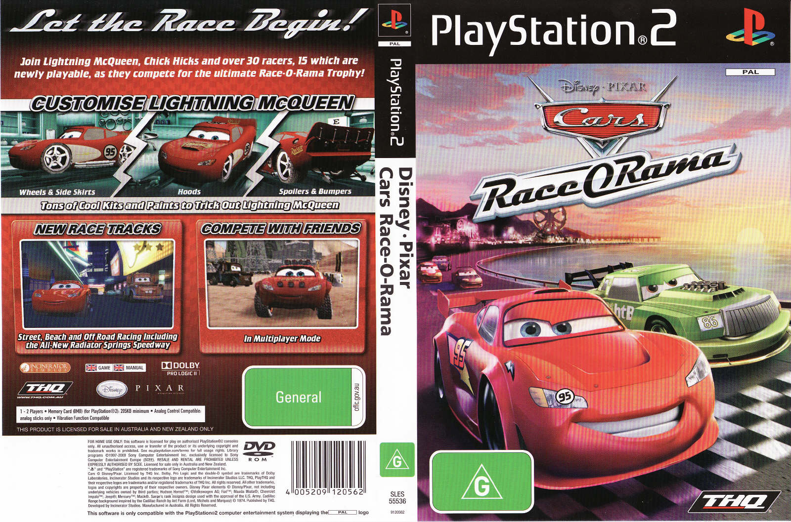 Torrent Super Compactado Cars Race O Rama PS2