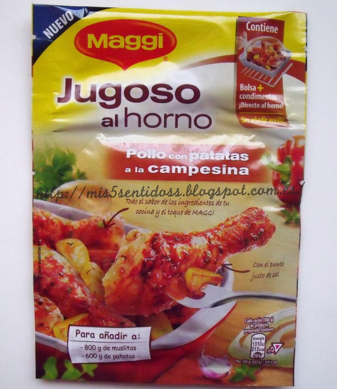 Maggi jugoso al horno Degustabox febrero 2014