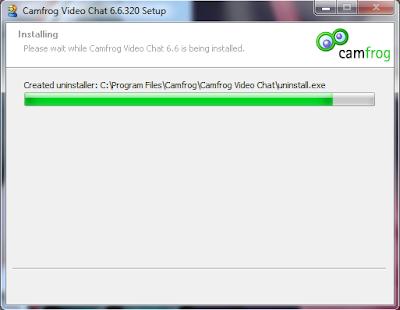 Proses Install Camfrog 6.6