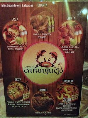 Casa do Caranguejo: Promoções