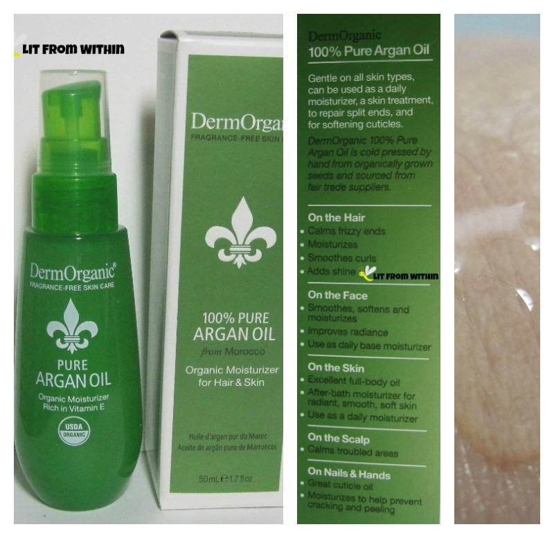 DermOrganic 100% Pure Argan Oil