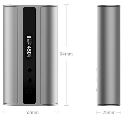 About Eleaf Official Authorized iStick TC 100W firmware upgradable VW Bypass Box Mod