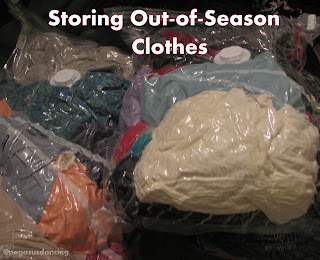 Storing Out-of-Season Clothes