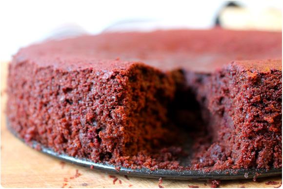 Rote beete schoko kuchen vegan