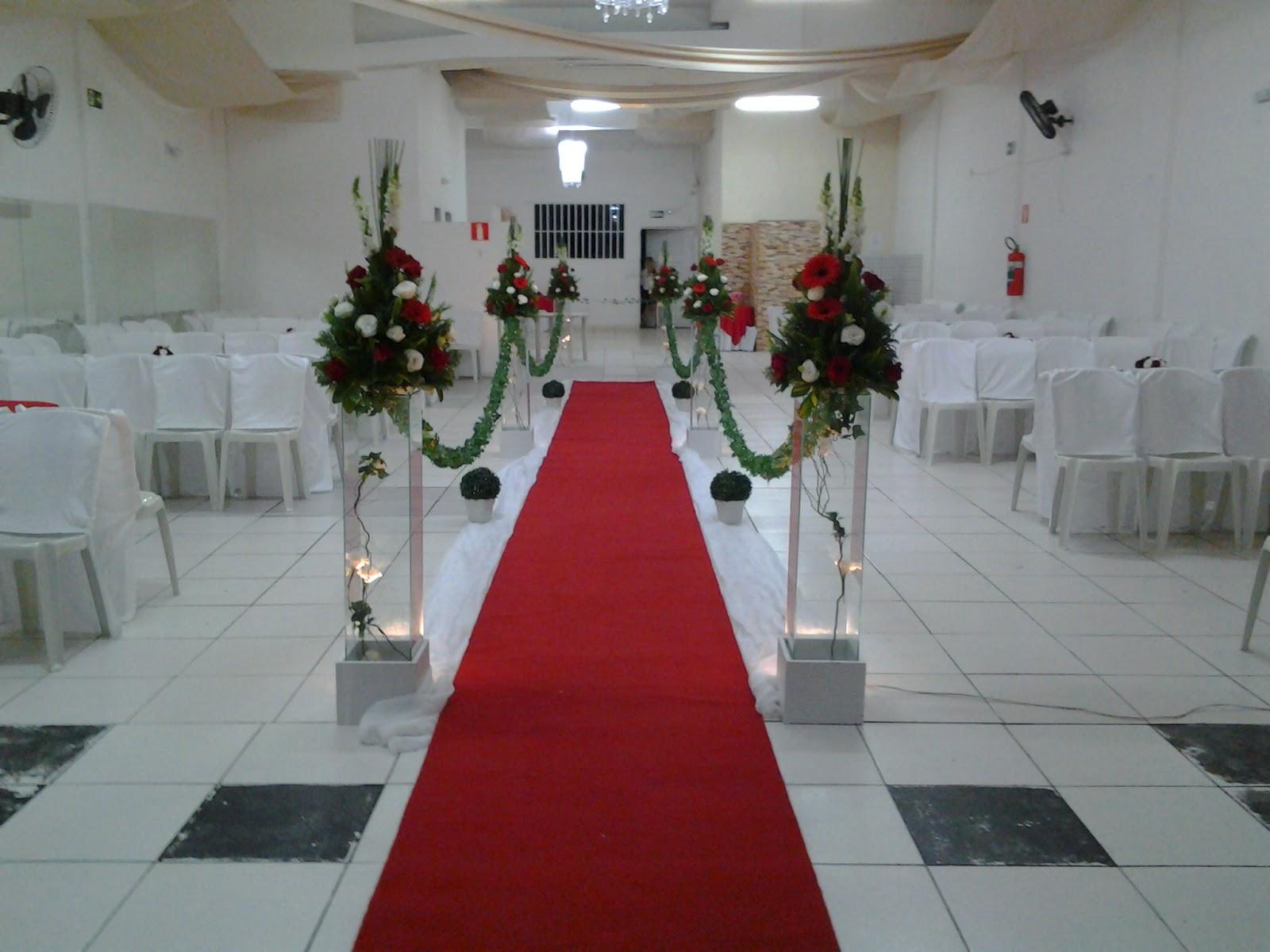 Decoraç u00e3o para Casamento Vermelho e Branco 18 05 2013