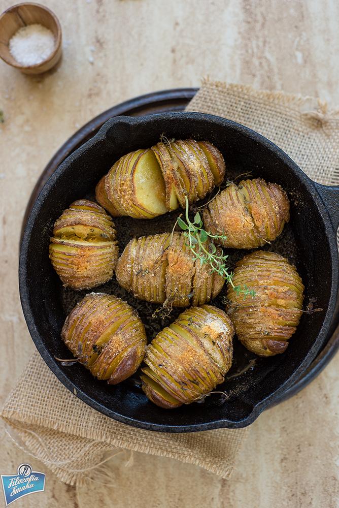 Ponacinane ziemniaki z piekarnika