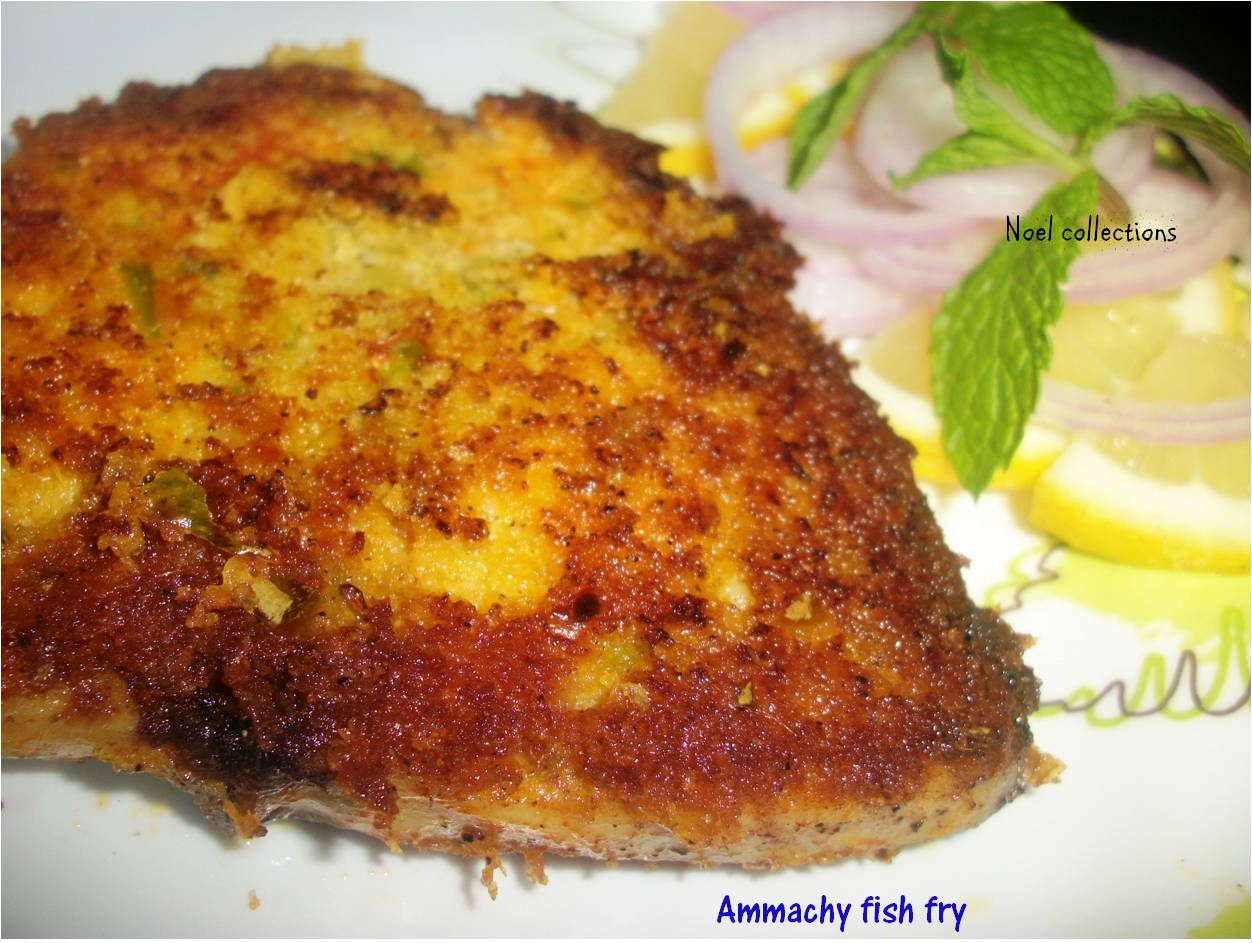Noel collections fish fry ammachy fish fry for Best fish fry recipe