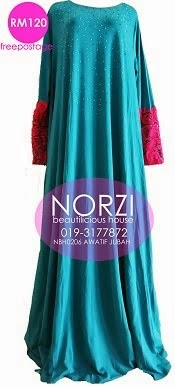 NBH0206 AWATIF JUBAH ( MATERNITY, NURSING & WUDUK FRIENDLY)