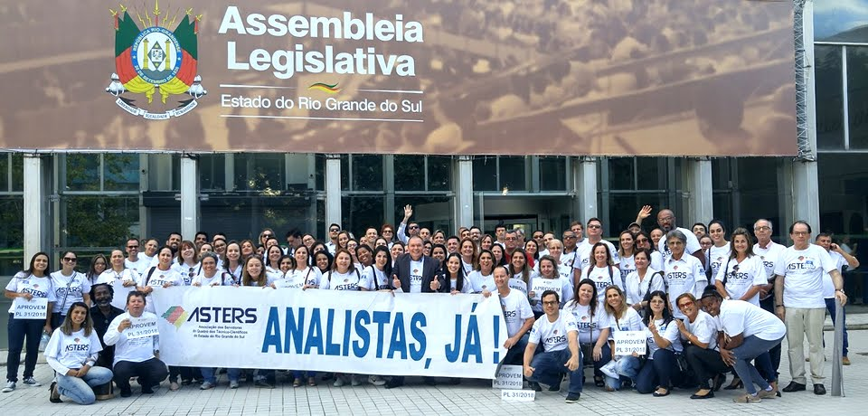 Analistas de Projetos e de Políticas Públicas do Estado do Rio Grande do Sul