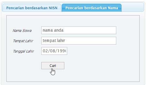 Cara Mencari NISN Secara Online