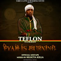 TEFLON - FYAH IS BURNING OFFICIAL MIXTAPE