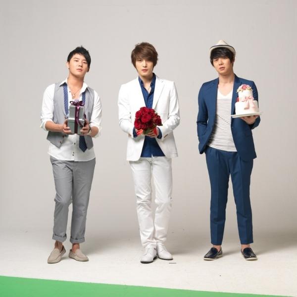 Kim Junsu, Kim Jae joong, Park Yoo Chun