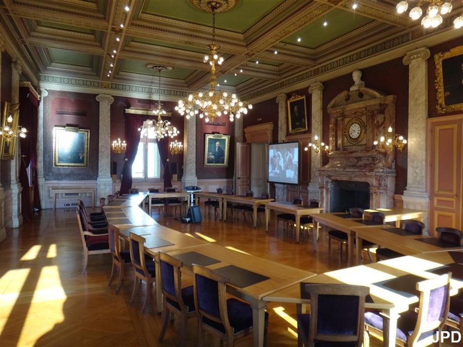 Paris bise art la chambre des notaires for Chambre de notaire paris