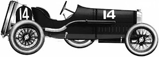 Peugeot 1912 auto de carreras