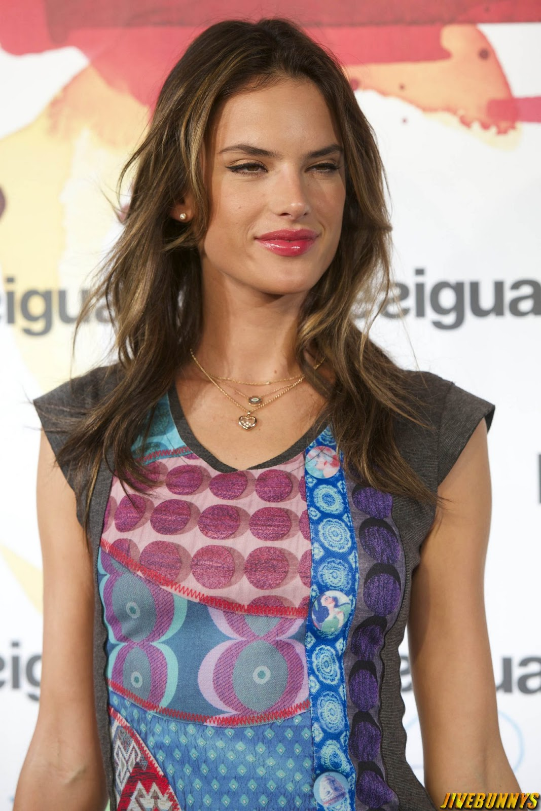 Alessandra Ambrosio - Presents 'La vida es chula' at Desigual in Madrid - 11/09/2014
