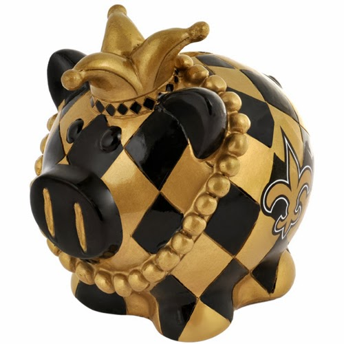 New Orleans Saints NFL Piggy Bank