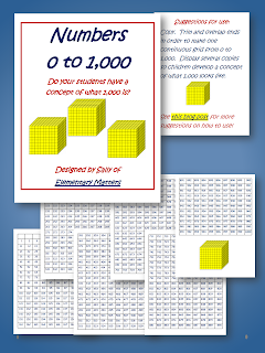 Worksheets Number Chart 1000 classroom freebies number chart 0 1000 1000