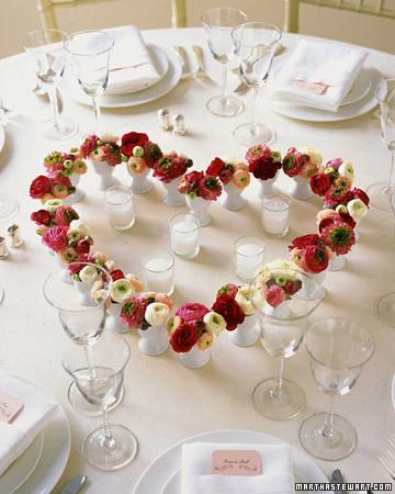 romantica 1 Decoração Romântica na Sala de Jantar