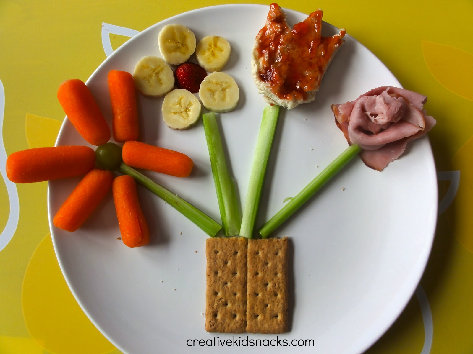 Flower Pot Snack By