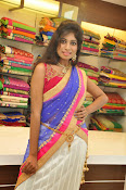 Mounika Reddy Glam pics in Half saree-thumbnail-9