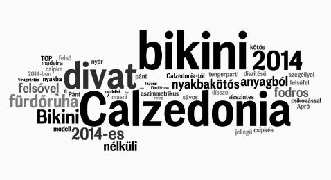 A 2014-es fürdőruha divat - Calzedonia fürdőruha bikini divat 2014 nyár