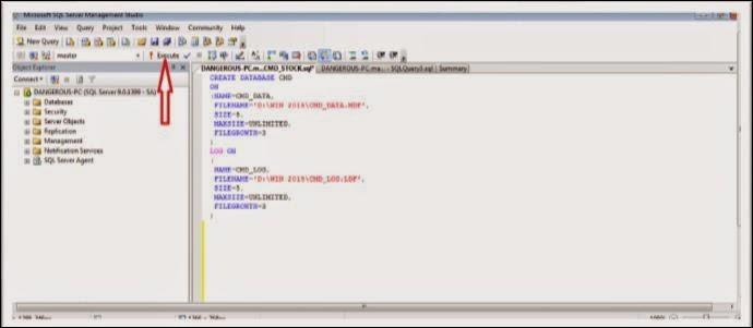 bahasaprogramvb : Cara membuat database sql server dengan