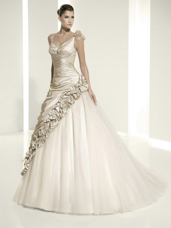 Elegant ball gown wedding dresses world of bridal for Elegant ball gown wedding dresses