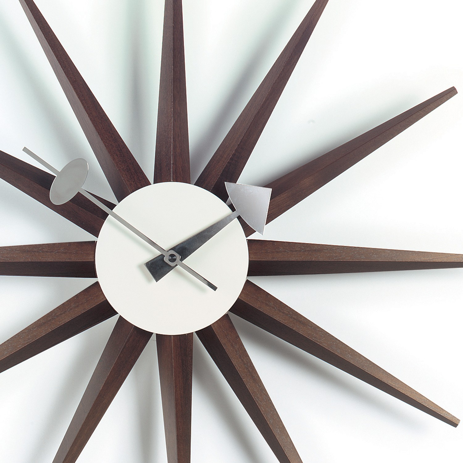 thebazaarlista vitra sunburst wall clock i 25 off. Black Bedroom Furniture Sets. Home Design Ideas
