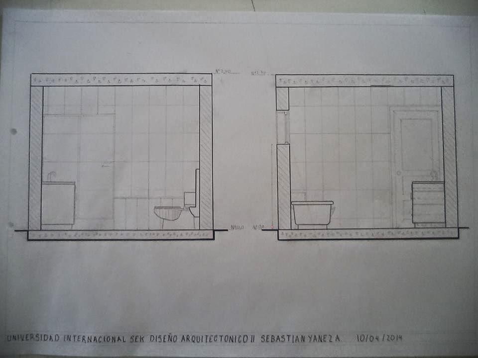 Dise o arquitect nico ii uisek ba o for Diseno de bano compartido