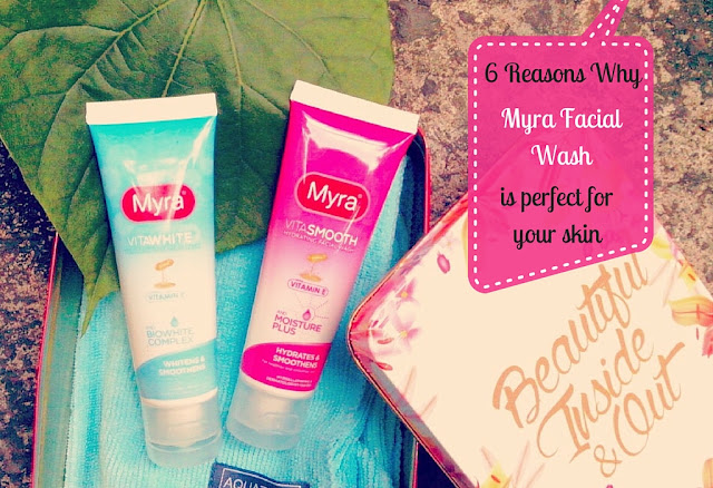 reasons why Myra Facial Wash is perfect for your skin