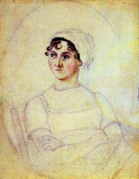 Who murdered jane austen janes death a medical mystery above jane austen 1810 as sketched by her sister cassandra fandeluxe Ebook collections