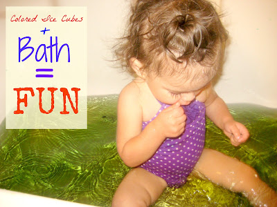 Toddler Bath Play