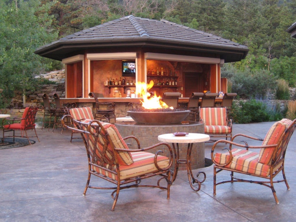 simple outdoor kitchen design ideas picture 01