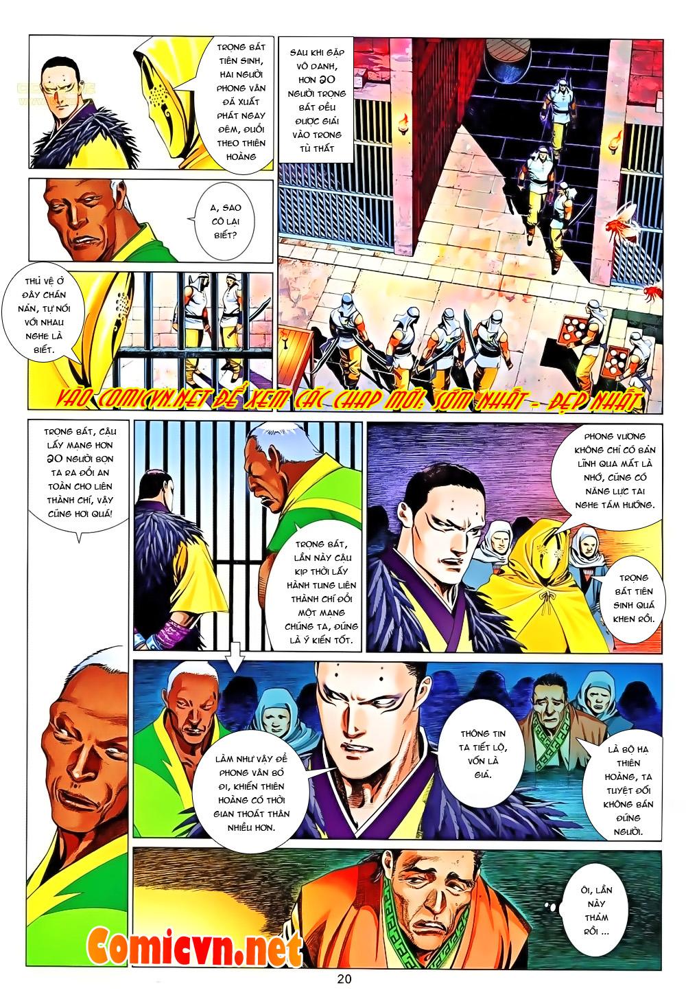 Phong Vân chap 651 Trang 20 - Mangak.info