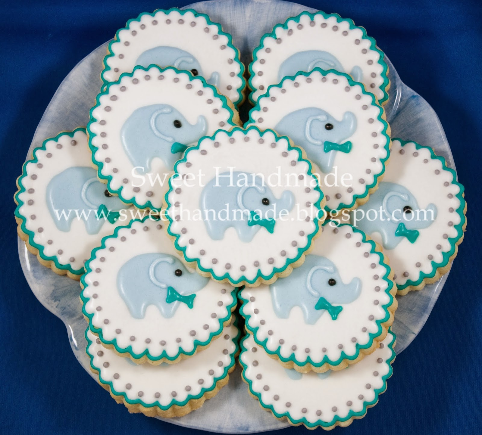 sweet handmade cookies tbt baby shower cookies with an elephant