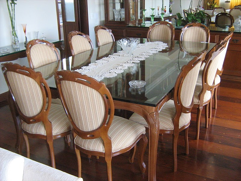 decoracao de interiores estilo handmade: Decoração de Interiores: Decoração de Interiores Sala de Jantar