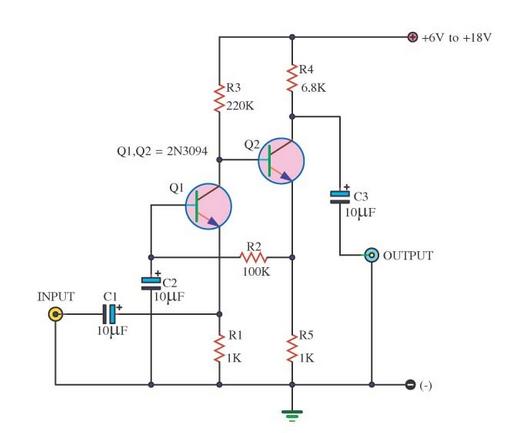 small transistor amplifier ideals