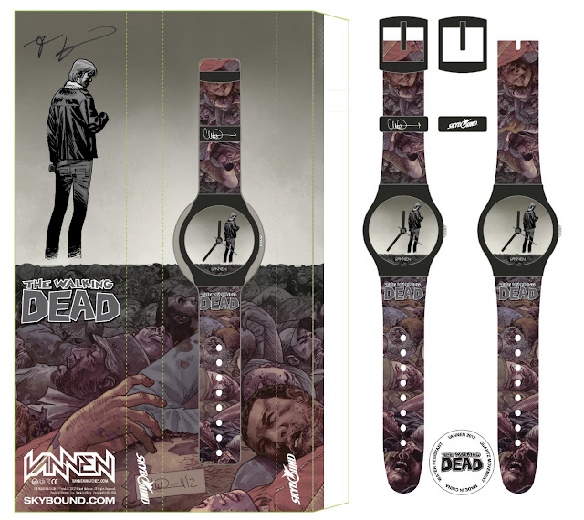 San Diego Comic-Con 2012 Exclusive The Walking Dead #100 Watch by Vannen