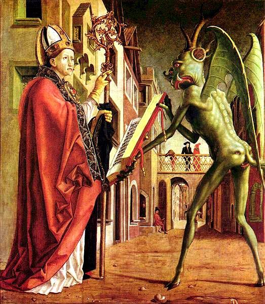 Michael Pacher, Saint Wolfgang et le diable