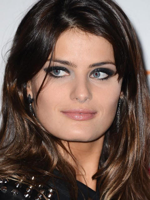 Isabeli Fontana, maquilhagem european music awards mtv