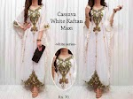 Cassava White Kaftan SOLD OUT