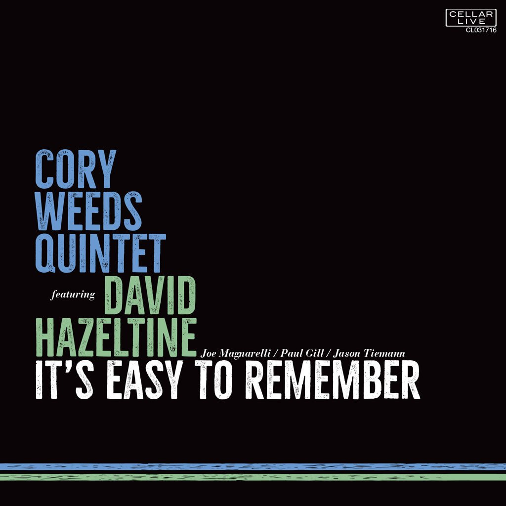 CORY WEEDS: IT´S EASY TO REMEMBER
